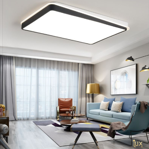 Monochromatic Black & White LED Ceiling Light. Free Delivery for all BTO Lighting, Resale Lighting, EC Lighting, Condo Lighting, Landed Lighting, Cafe Lighting, Restaurant Lighting & Retail Lighting