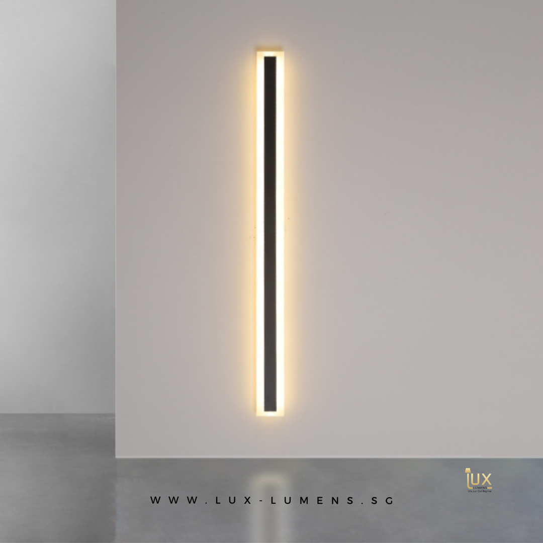 Singapore's Fully-Online Lighting Gallery - Pendant Lights, LED Ceiling Lights & Wall Lamps. Get your Minimalist LED Vanity Wall Lamp with Free Delivery - No Min. Purchase for all BTO Home Lighting, Resale Home Lighting, EC / Condo Home Lighting, Restaurants Lighting, Cafes & Retail Lighting.