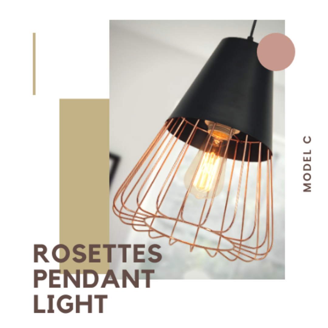 Singapore's Fully-Online Lighting Gallery - Pendant Lights, LED Ceiling Lights & Wall Lamps. Modern meets Luxury with the Rose Gold-Caged Pendant Light. Instant utility savings of up to 40% by fitting the lamp with LED Bulbs. Free Island-wide Delivery - No Minimum Purchase for all BTO, Resale, EC, Condo, Restaurants, Cafes & Hotel.
