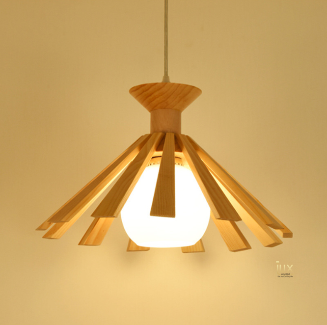 Cheapest Lighting in Singapore! Quality Wood Scandinavian Wood Pendant Lights. Complement your Scandinavian & Nordic Themed Homes/Business with the Scandinavian Themed Pendant Lights. LED Bulbs Compatible. Free Island-wide Delivery - No Minimum Purchase for all BTO, Resale, EC, Condo, Restaurants, Cafes, Hotel & Retail Lighting.