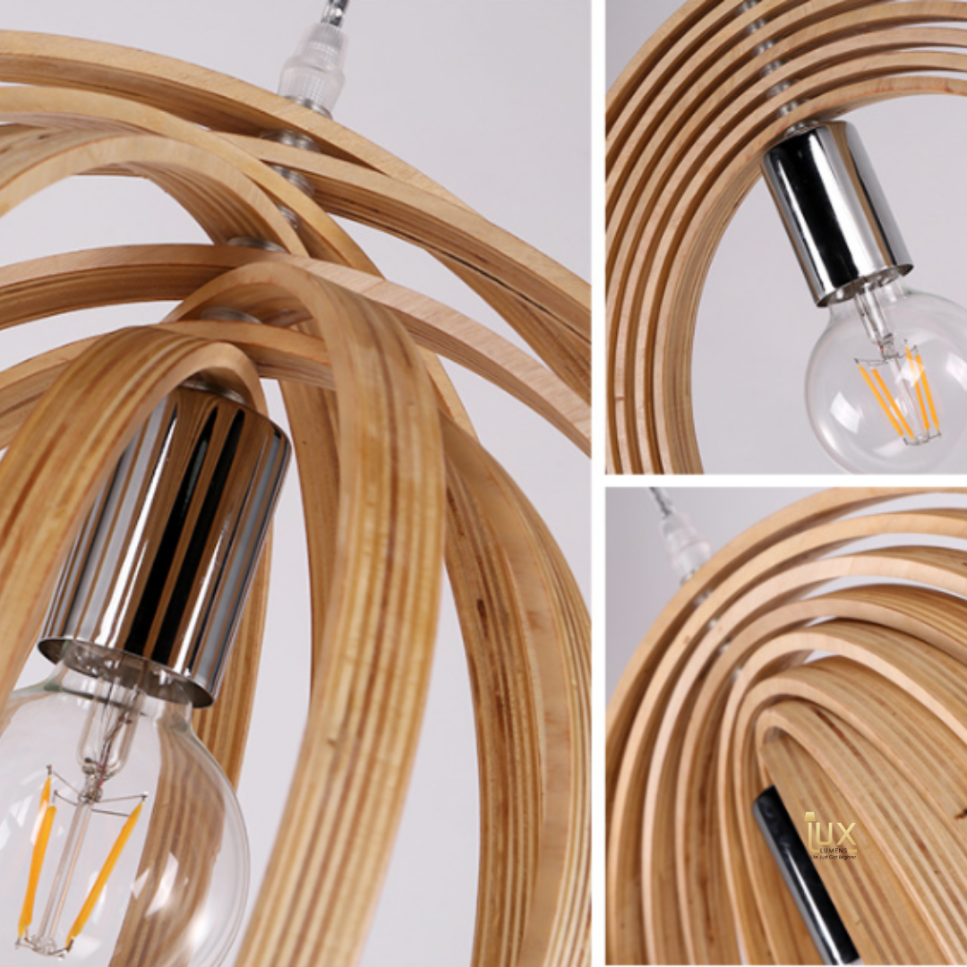 Cheapest, Quality Wood Scandinavian Wood Pendant Lights. Complement your Scandinavian & Nordic Themed Homes/Business with the Scandinavian Themed Pendant Lights. LED Bulbs Compatible. Free Island-wide Delivery - No Minimum Purchase for all BTO, Resale, EC, Condo, Restaurants, Cafes, Hotel & Retail Lighting.