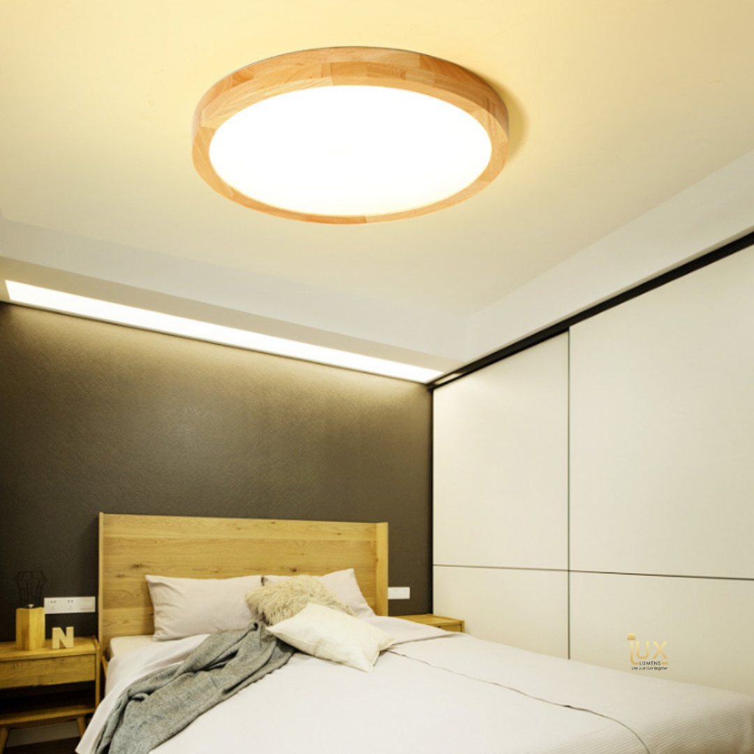 Singapore Online Lighting Gallery - Scandinavian & Minimalist Wood | LED Ceiling Lights, Daylight, Tri-Tone and Remote-controlled Adjustable LED Ceiling Light for Singapore BTO / Resale / Condos / Landed / Restaurants / Hotels / Offices. Free Delivery - No Minimum Purchase