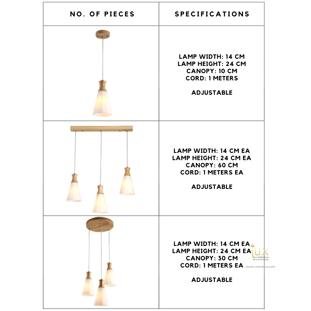 Singapore's Fully-Online Lighting Gallery - Pendant Lights, LED Ceiling Lights & Wall Lamps. Complement your Scandinavian & Nordic Themed Homes/Business with the Scandinavian Luleå Pendant Light. LED Bulbs Compatible. Free Island-wide Delivery - No Minimum Purchase for all BTO, Resale, EC, Condo, Restaurants, Cafes, Hotel & Retail Lighting.