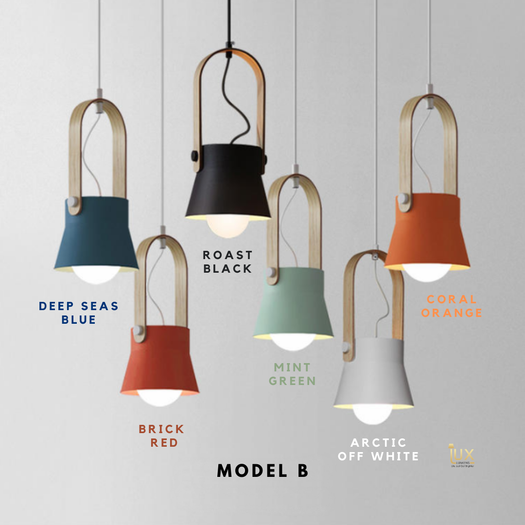 NAESTVED - Scandinavian Pendant Light