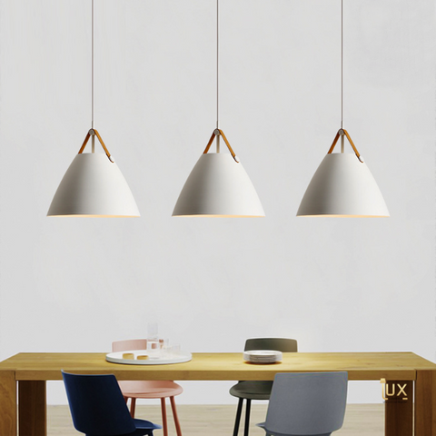 Scandinavian Belt-Holder Pendant Light