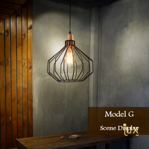 Vintage Industrial Orebro Pendant Light