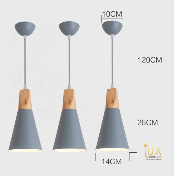 FARBIG - Scandinavian Pendant Light