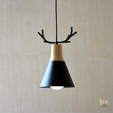 Lux-Lumens | Singapore's Fully-Online Lighting Retail - Pendant Lights, LED Ceiling Lights & Fans. Complement your Scandinavian & Nordic Themed Homes/Business with the Scandinavian Reindeer's Antlers Pendant Light. LED Bulbs Compatible. Free Island-wide Delivery - No Minimum Purchase for all BTO, Resale, EC, Condo, Resturants, Cafes, Hotel & Retail Lighting.