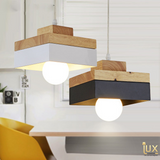 Lux-Lumens | Singapore's Fully-Online Lighting Retail - Pendant Lights, LED Ceiling Lights & Fans. Complement your Scandinavian & Nordic Themed Homes/Business with the Scandinavian Geometric Pendant Light. LED Bulbs Compatible. Free Island-wide Delivery - No Minimum Purchase for all BTO, Resale, EC, Condo, Resturants, Cafes, Hotel & Retail Lighting.