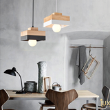 Lux-Lumens | Singapore's Fully-Online Lighting Retail - Pendant Lights, LED Ceiling Lights & Fans. Complement your Scandinavian & Nordic Themed Homes/Business with the Scandinavian Geometric Pendant Light Close Up. LED Bulbs Compatible. Free Island-wide Delivery - No Minimum Purchase for all BTO, Resale, EC, Condo, Resturants, Cafes, Hotel & Retail Lighting.
