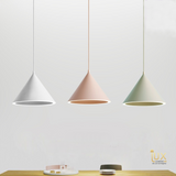 Lux-Lumens | Singapore's Fully-Online Lighting Retail - Pendant Lights, LED Ceiling Lights & Fans. Complement your Scandinavian & Nordic Themed Homes/Business with the Scandinavian Cone - LED Pendant Light. LED Bulbs Compatible. Free Island-wide Delivery - No Minimum Purchase for all BTO, Resale, EC, Condo, Restaurants, Cafes, Hotel & Retail Lighting.