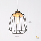 Scandinavian Malmö Pendant Light