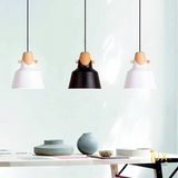Lux-Lumens | Singapore's Fully-Online Lighting Retail - Pendant Lights, LED Ceiling Lights & Fans. Scandinavian Vivid Colours Pendant Light Hanging Over Dining Area. Free-Island Wide Delivery - No Minimum Purchase for all BTO, Resale, EC, Condo, Restaurants, Cafe, Hotels & Retail.