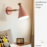 Scandinavian Wall Lamps in Macron Colours. Free Island-wide Delivery - No Minimum Purchase for all BTO, Resale, EC, Condo, Restaurants, Cafes, Hotel & Retail Lighting.