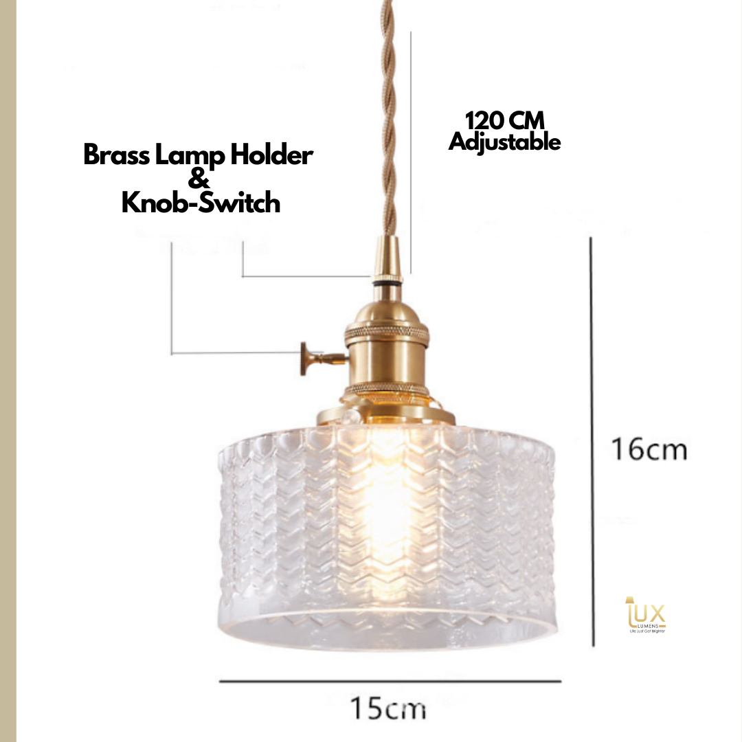 Singapore's Fully-Online Lighting Gallery - Pendant Lights, LED Ceiling Lights & Wall Lamps. Get your Vetri - Glassware Pendant Light with Free Delivery - No Min. Purchase for all BTO Home Lighting, Resale Home Lighting, EC / Condo Home Lighting, Restaurants Lighting, Cafes & Retail Lighting.