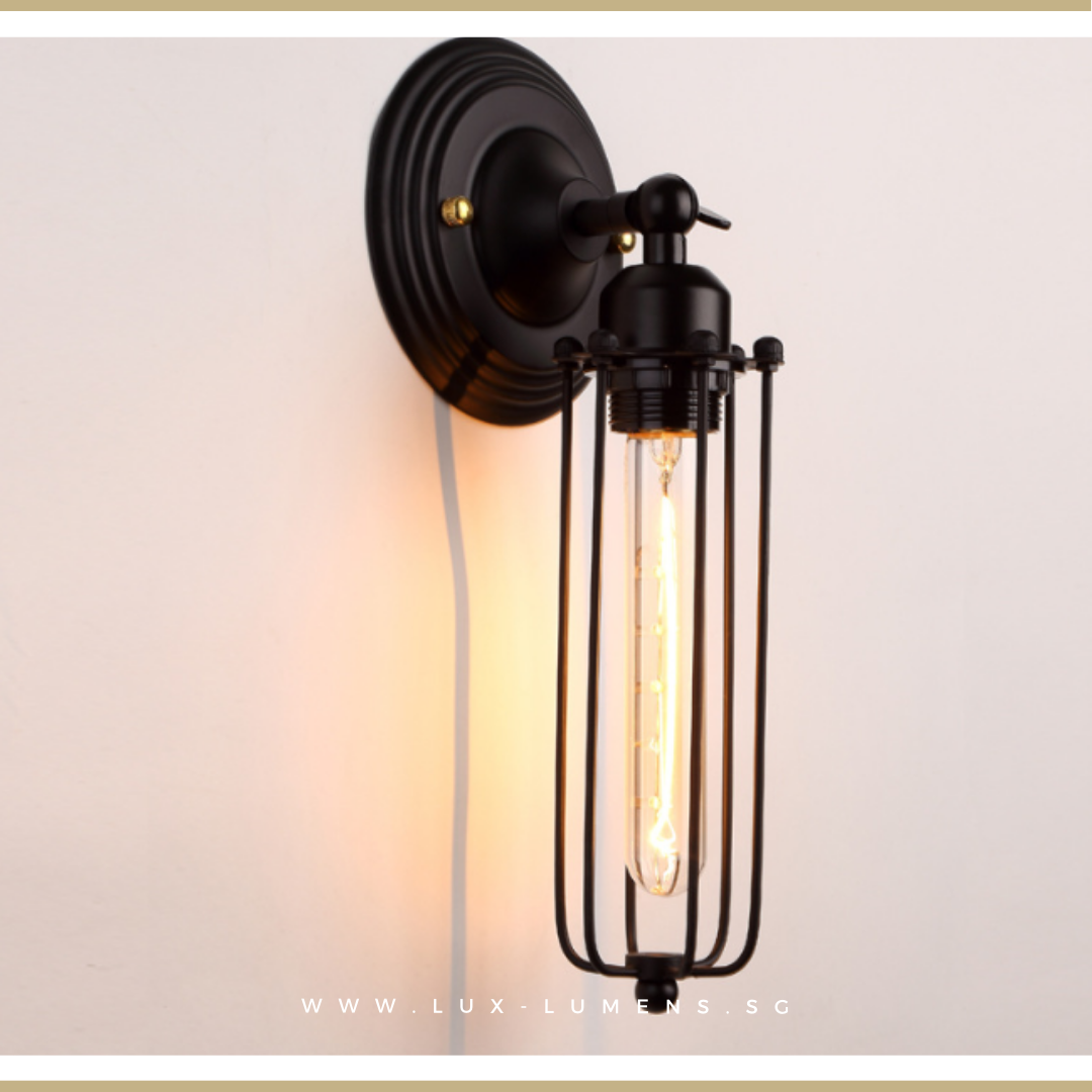 Vintage Industrial - Lumba Wall Lamp
