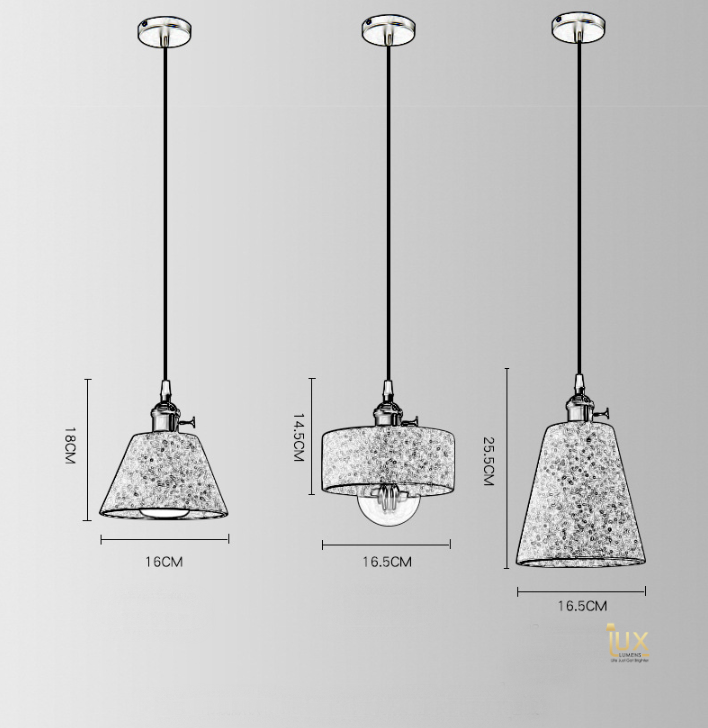 Singapore Pendant Lights, Affordable, Cheap & High-Quality Lighting - Vintage Industrial Cement Pendant Light with gold handles and grey cement body from Lux-Lumens, Singapore's Fully-Online Lighting Retail for BTO, Resale, EC, Condo, Landed, Restaurants, Cafes, Hotels & Retail Shops. Free-Delivery, No Minimum Purchase!