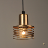 Singapore Pendant Lights - Vintage Industrial Daint Pendant Light with wooden handles and real cement body from Lux-Lumens, Singapore's Fully-Online Lighting Retail for BTO, Resale, EC, Condo, Landed, Restaurants, Cafes, Hotels & Retail Shops. Free-Delivery, No Minimum Purchase in Singapore!