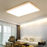 Scandinavian Acrylic Wood - LED Ceiling Light