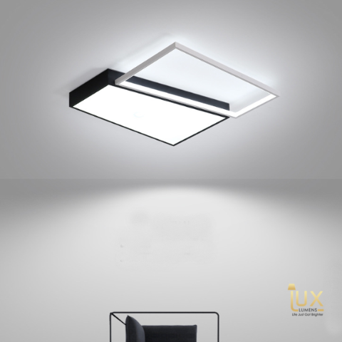 Monochromatic & Contemporary Square LED Ceiling Light in Beautiful & Fun Colours and Extra Bright Light Projection. Modern Ceiling Lights For all BTO Lighting, Resale Lighting, Condo Lighting, EC Lighting, Landed Lighting, Restaurants Lighting, Hotel Lighting, Cafe Lighting & Retail Lighting