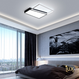 Yin Yang Square (II) - LED Ceiling Light. Designer LED Ceiling Lights suitable for Living Rooms & Bedrooms. Bright and even light distribution with new LED optic lenses