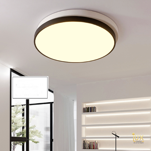 Lux-Lumens | Singapore's Fully-Online Lighting Retail - Pendant Lights, LED Ceiling Lights & Fans. Get the Yin-Yang II | Round LED Ceiling Light to complement your Modern Themes. Instant utility savings of up to 40% choosing LED Ceiling Lights. Free Island-wide Delivery - No Minimum Purchase for all BTO, Resale, EC, Condo, Restaurants, Cafes, Hotel & Retail Lighting.