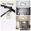 Singapore Designer LED Ceiling Light. Get the Yin-Yang V | Round LED Ceiling Light to complement your Modern Themes. Instant utility savings of up to 40% choosing LED Ceiling Lights. Free Island-wide Delivery - No Minimum Purchase for all BTO, Resale, EC, Condo, Restaurants, Cafes, Hotel & Retail Lighting.