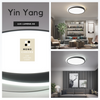 Singapore Designer LED Ceiling Light. Get the Yin-Yang IV | Round LED Ceiling Light to complement your Modern Themes. Instant utility savings of up to 40% choosing LED Ceiling Lights. Free Island-wide Delivery - No Minimum Purchase for all BTO, Resale, EC, Condo, Restaurants, Cafes, Hotel & Retail Lighting.