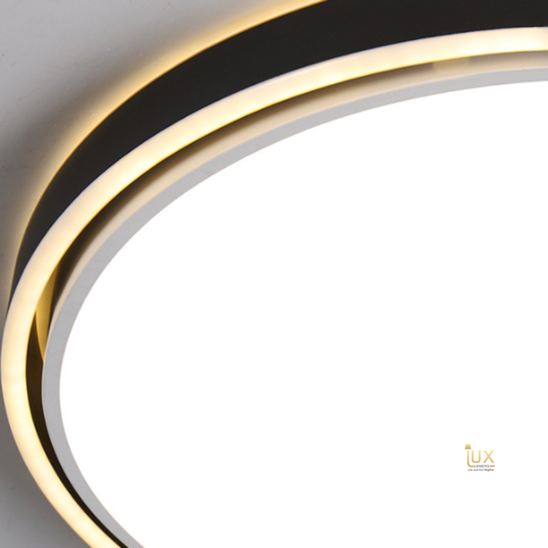 Singapore Designer LED Ceiling Light. Get the Modern Contemporary (II) | Round LED Ceiling Light to complement your Modern Themes. Instant utility savings of up to 40% choosing LED Ceiling Lights. Free Island-wide Delivery - No Minimum Purchase for all BTO, Resale, EC, Condo, Restaurants, Cafes, Hotel & Retail Lighting.