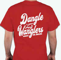 Dangle Your Wanglers Two-Sided Adult T-Shirt