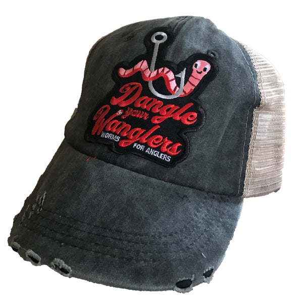 Wanglers Distressed Trucker Hat