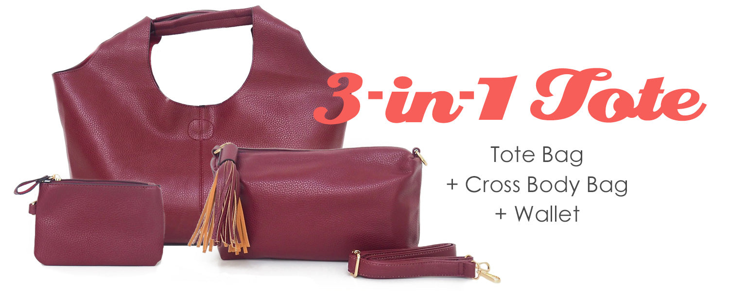 The 3-in-1 Tote bag by Gift Pop