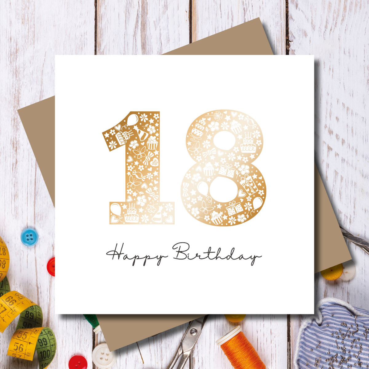 Happy Birthday Card - 18