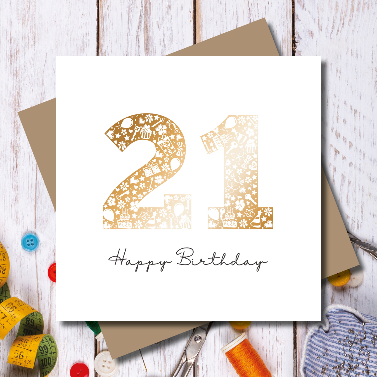 Happy Birthday Card - 21