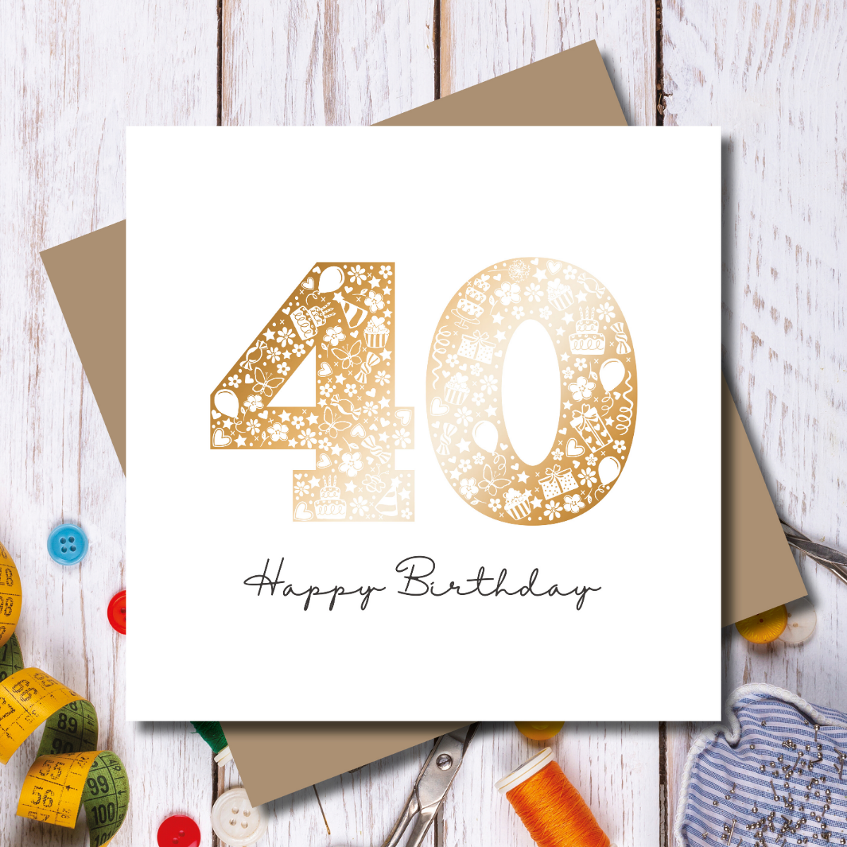 Happy Birthday Card - 40