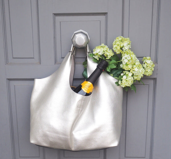 Classic Silver Tote | Gift Pop Boutique