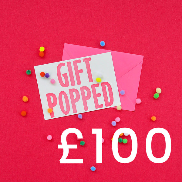 £100 Gift Voucher | Gift Pop Boutique