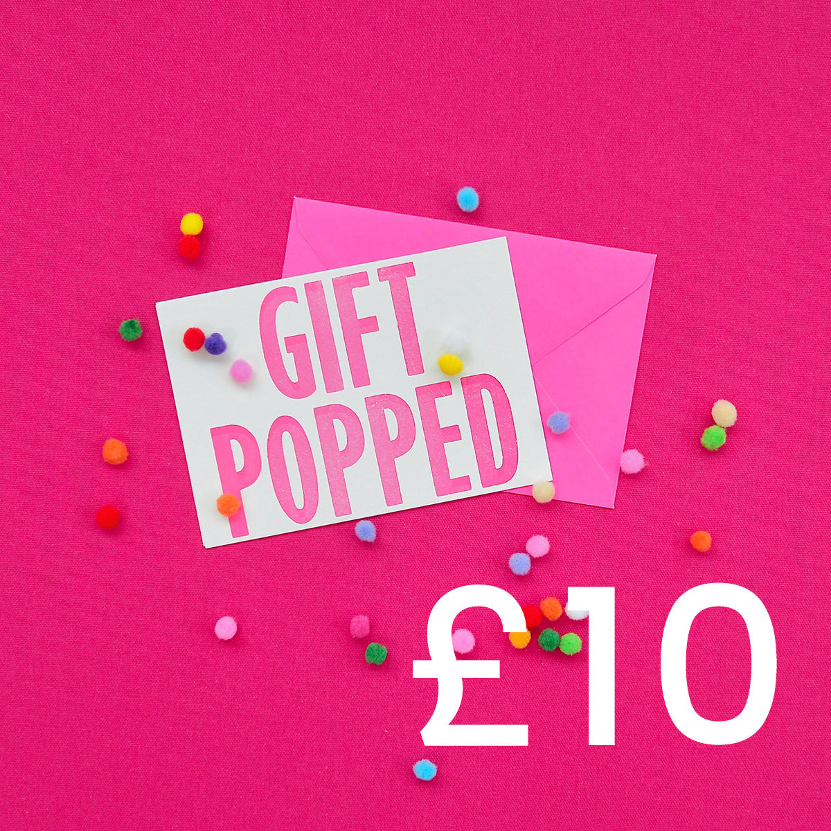 £10 Gift Voucher | Gift Pop Boutique