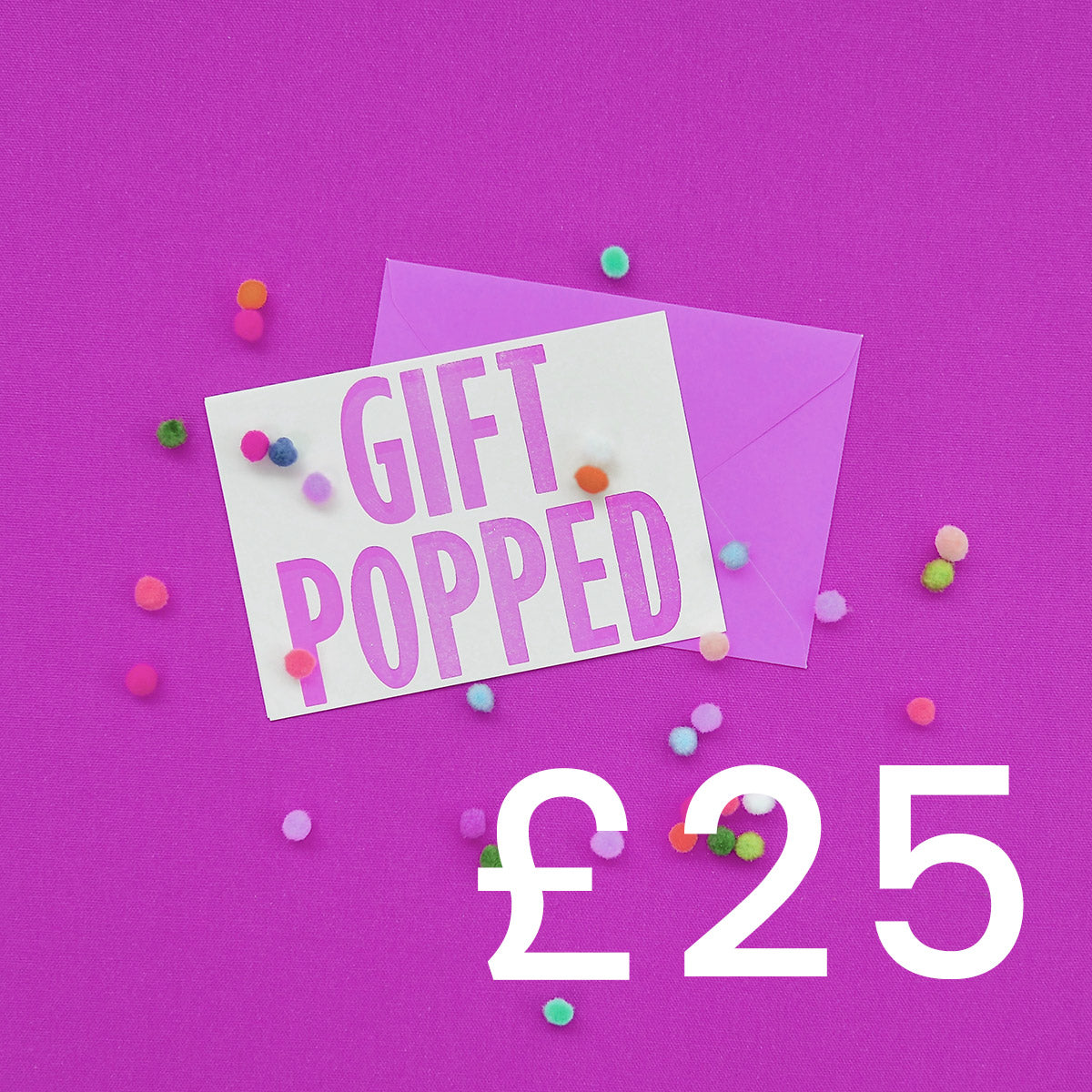 £25 Gift Voucher | Gift Pop Boutique