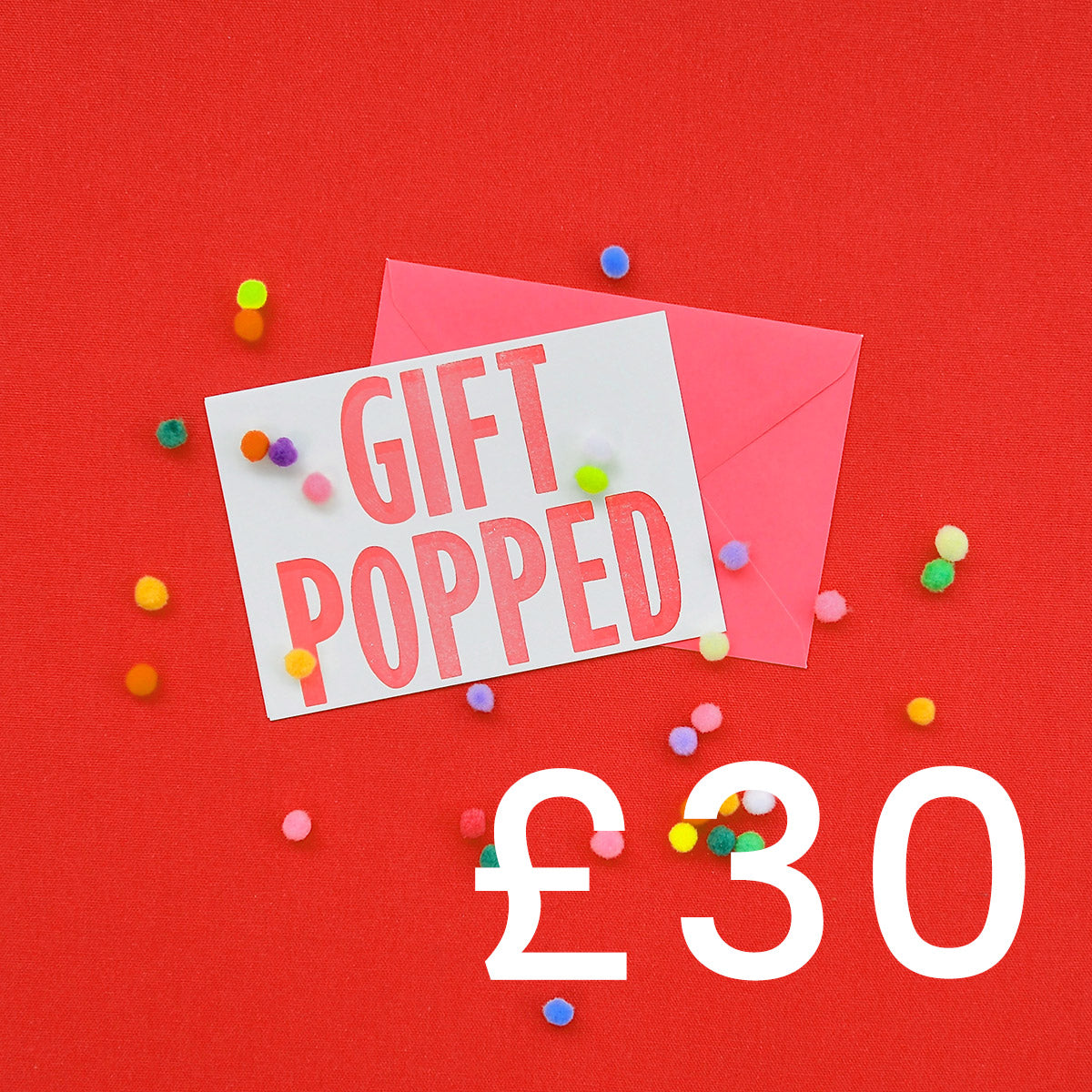 £30 Gift Voucher | Gift Pop Boutique