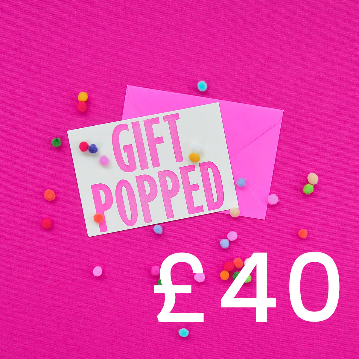 £40 Gift Voucher | Gift Pop Boutique