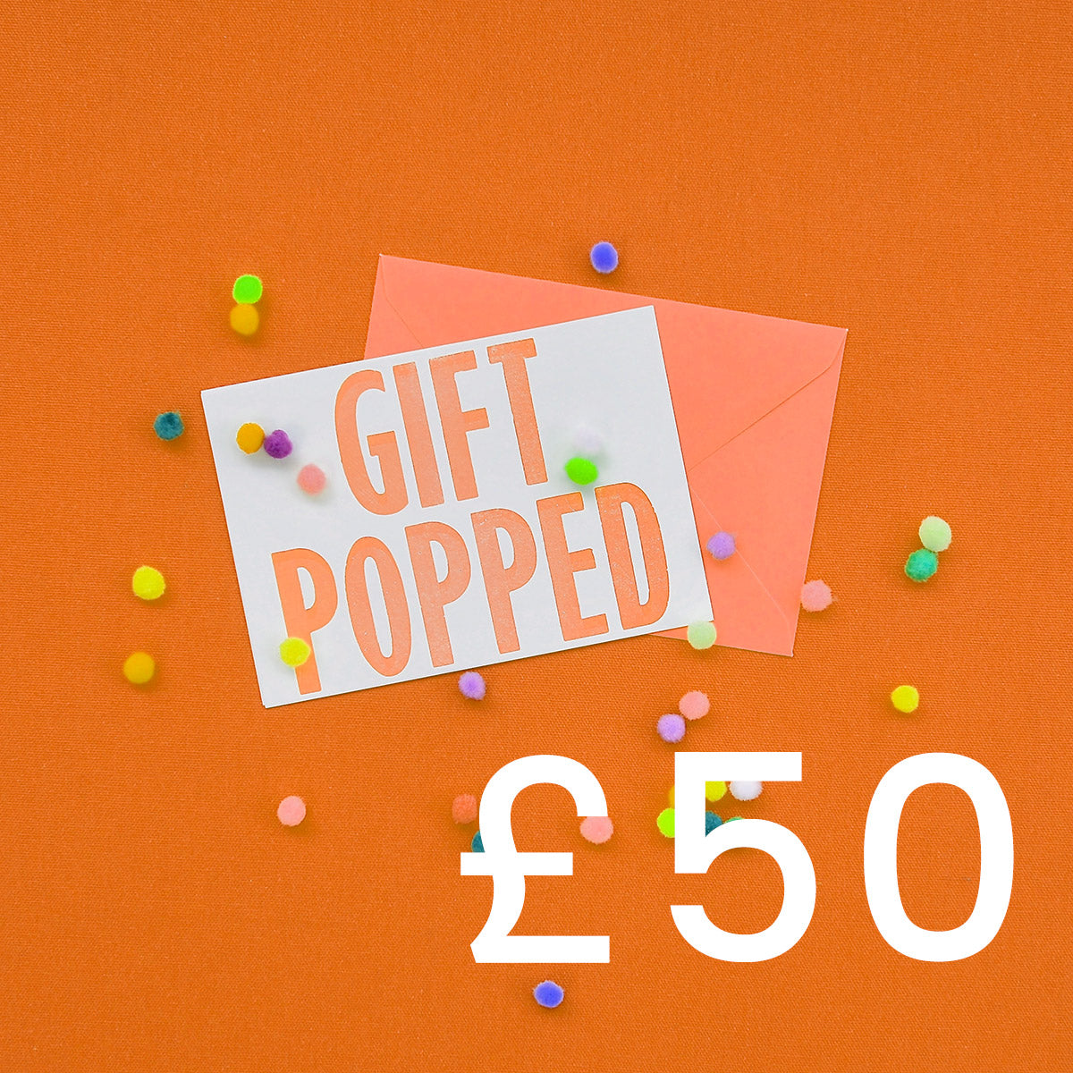 £50 Gift Voucher | Gift Pop Boutique