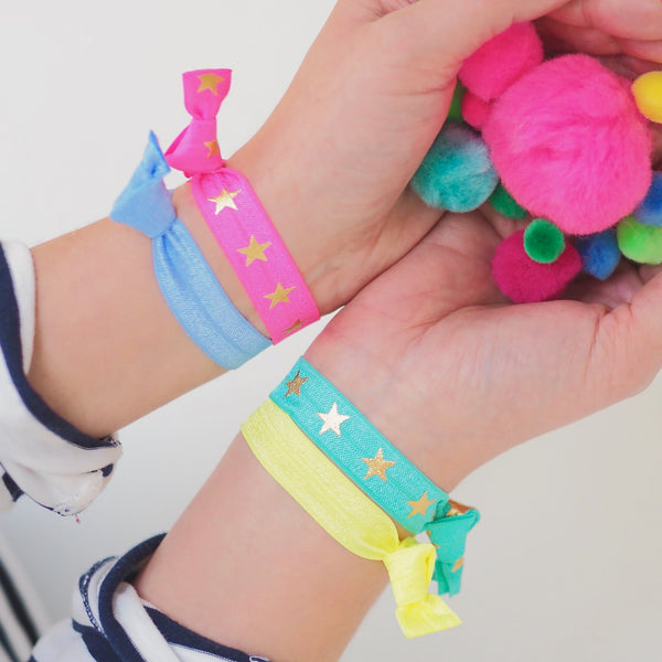 Neon Star Hair Bands