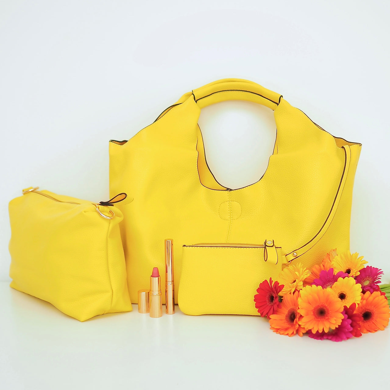 Bright Yellow Tote | Gift Pop Boutique