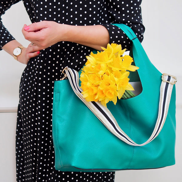 Kingfisher Green Tote