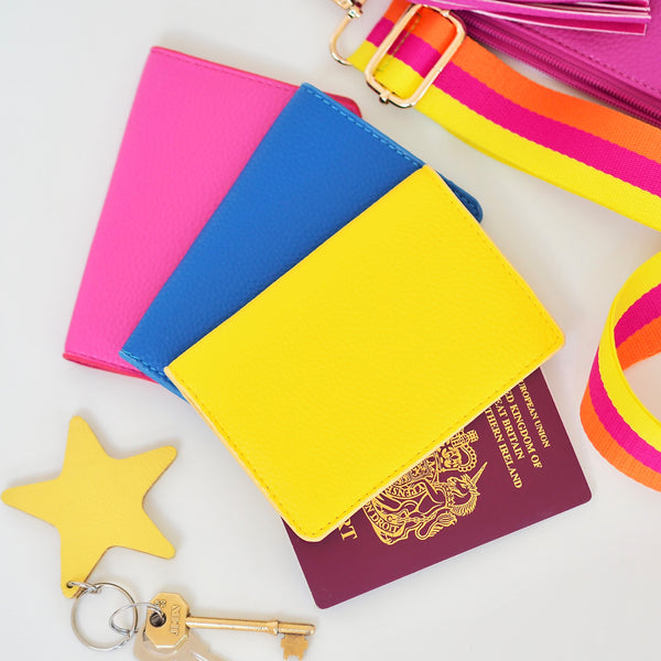 Hot Pink Passport Cover | Gift Pop Boutique