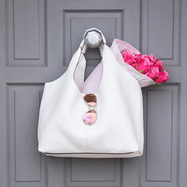 Chalk White Tote | Gift Pop Boutique