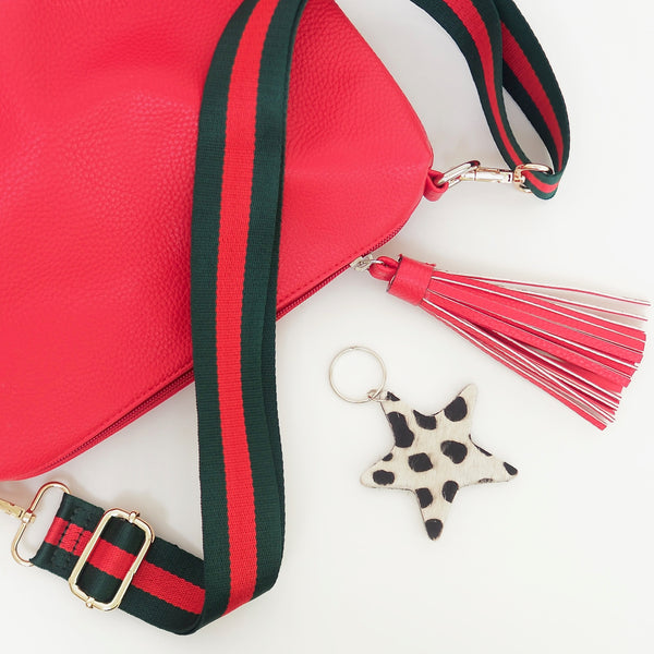 Red & Green PLAIN Strap | Gift Pop Boutique