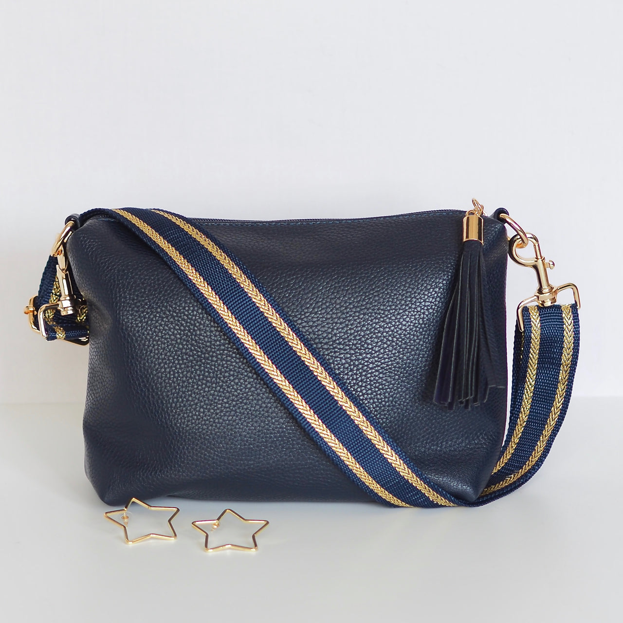 Luxe Navy and Gold Strap