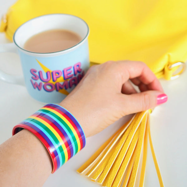 Chunky Rainbow Bangle